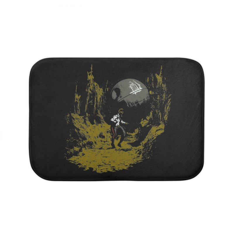 Raiders of the Galactic Empire Home Bath Mat by foureyedesign's shop
