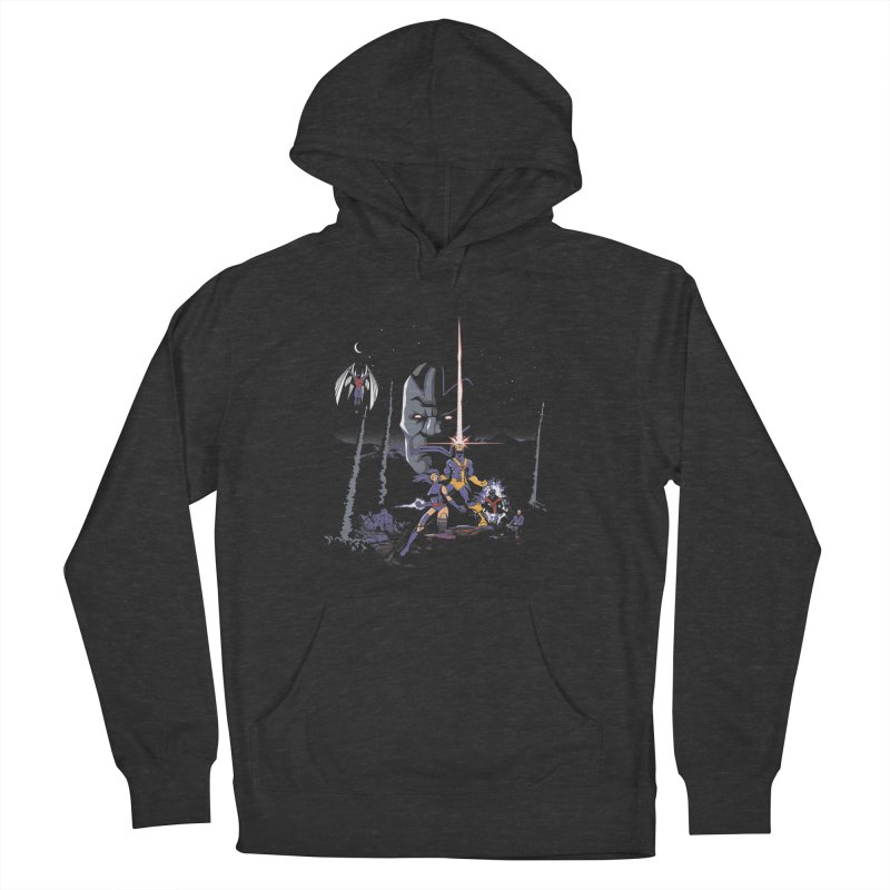Mutant Wars Apocalypse  Men's Pullover Hoody by foureyedesign's shop
