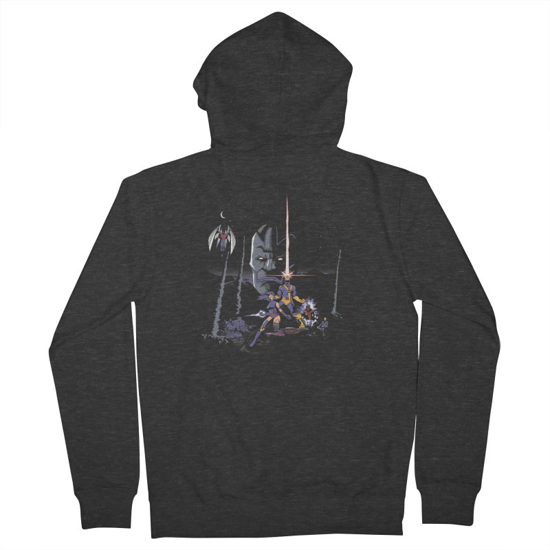 Mutant Wars Apocalypse  Men's Zip-Up Hoody by foureyedesign's shop