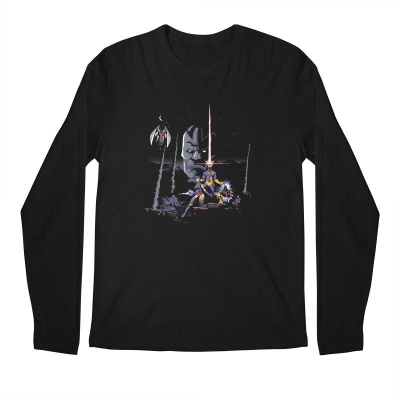 Mutant Wars Apocalypse  Men's Longsleeve T-Shirt by foureyedesign's shop