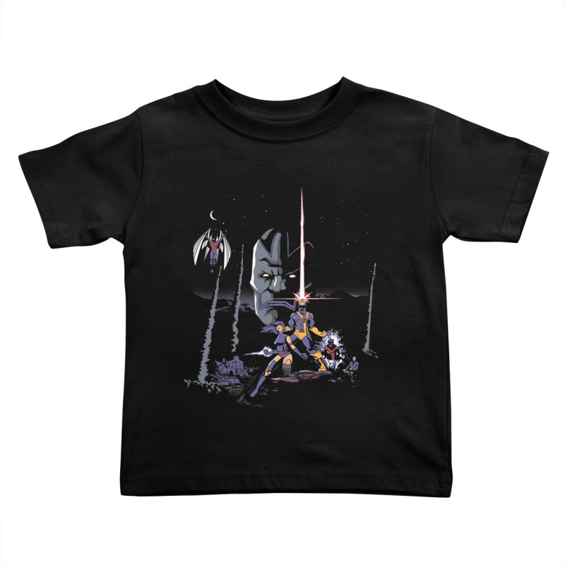 Mutant Wars Apocalypse  Kids Toddler T-Shirt by foureyedesign shop