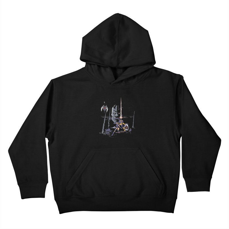 Mutant Wars Apocalypse  Kids Pullover Hoody by foureyedesign's shop