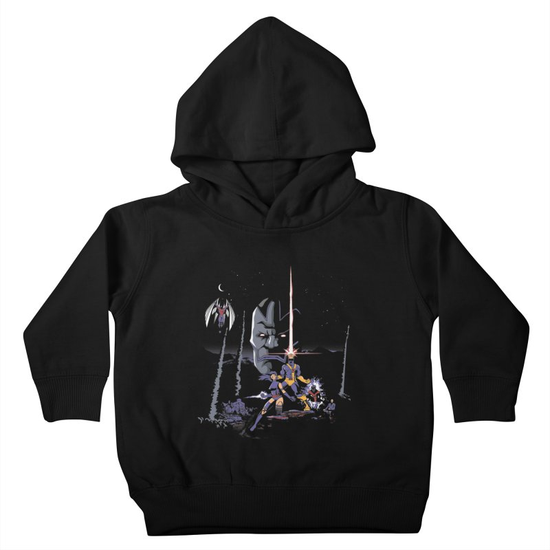 Mutant Wars Apocalypse  Kids Toddler Pullover Hoody by foureyedesign's shop