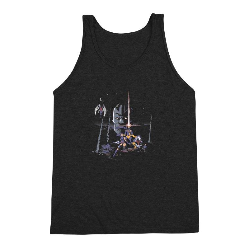 Mutant Wars Apocalypse  Men's Triblend Tank by foureyedesign's shop