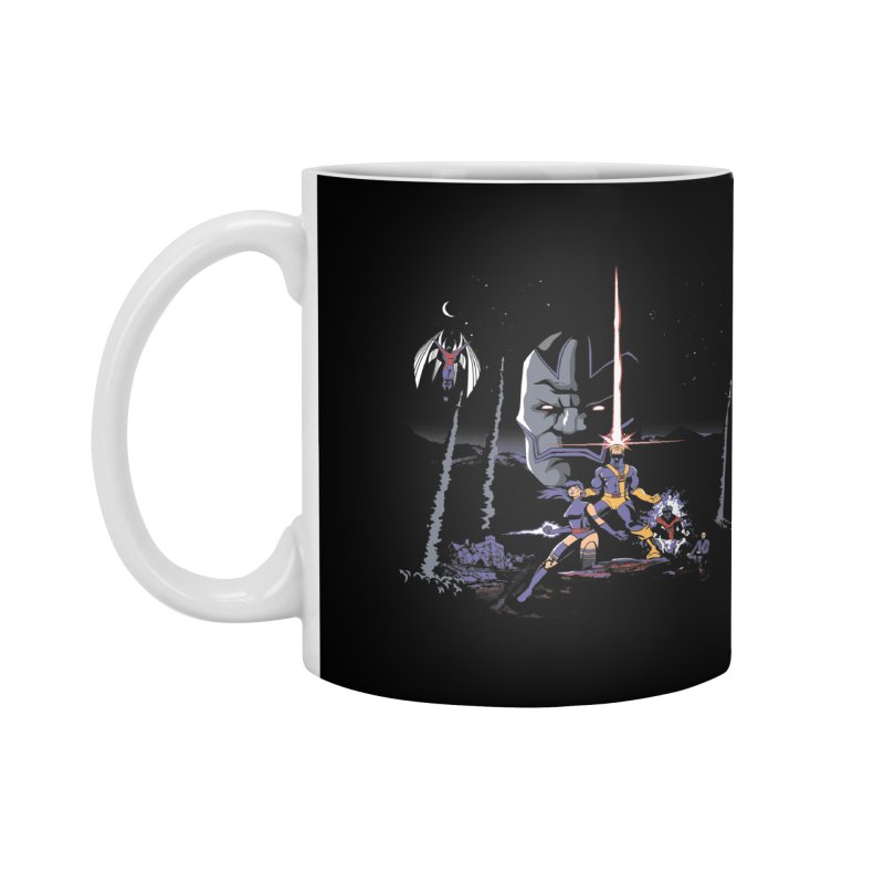 Mutant Wars Apocalypse  Accessories Mug by foureyedesign shop