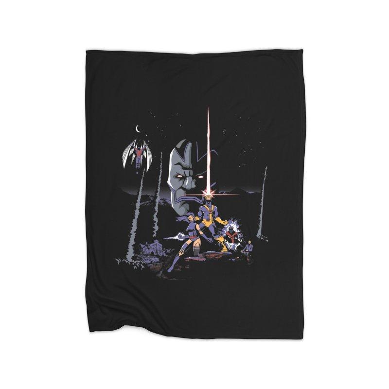 Mutant Wars Apocalypse  Home Blanket by foureyedesign's shop