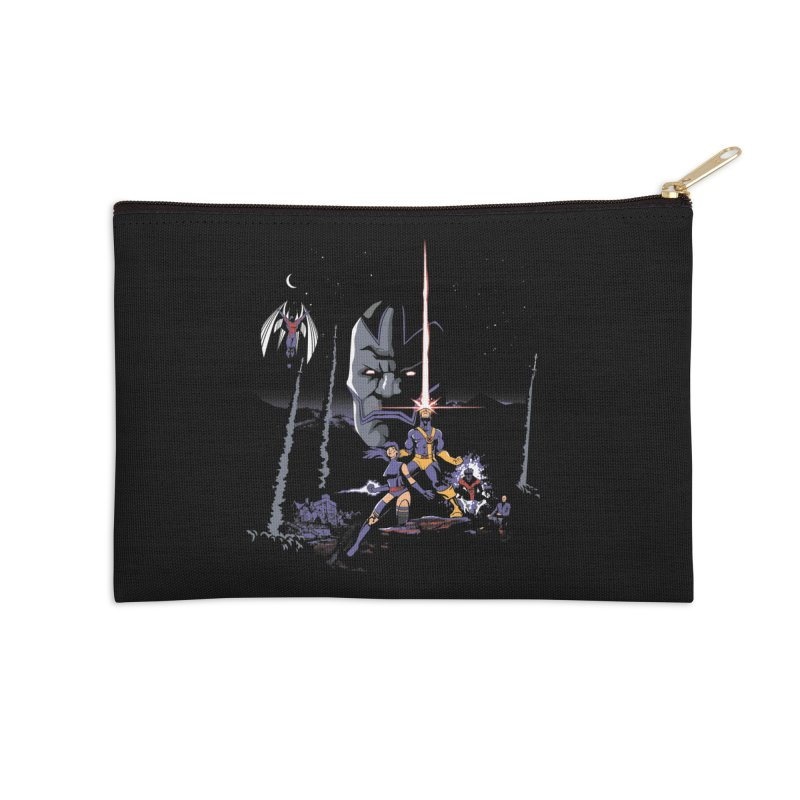 Mutant Wars Apocalypse  Accessories Zip Pouch by foureyedesign's shop