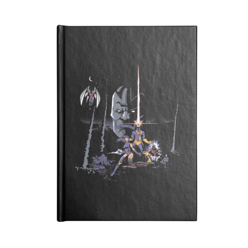 Mutant Wars Apocalypse  Accessories Notebook by foureyedesign shop