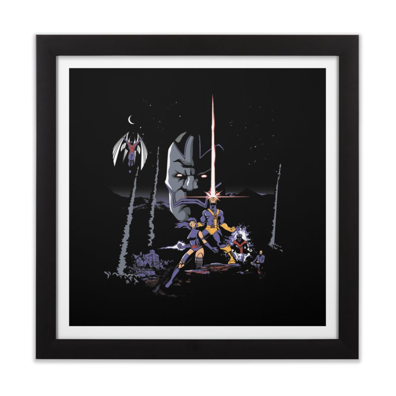 Mutant Wars Apocalypse  Home Framed Fine Art Print by foureyedesign's shop