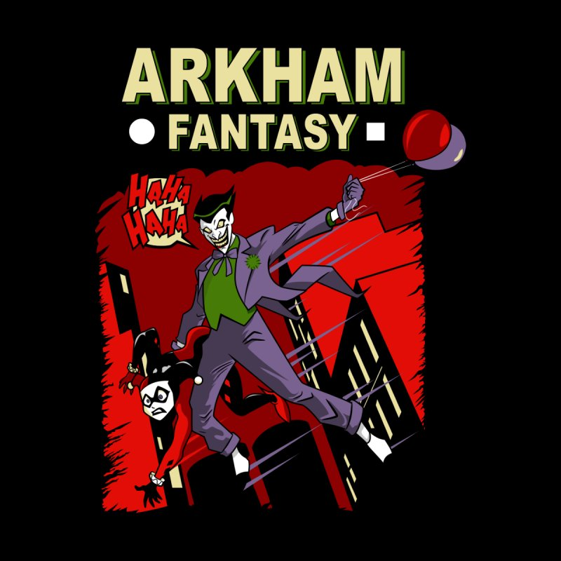 Arkham Fantasy  Accessories Bag by foureyedesign shop