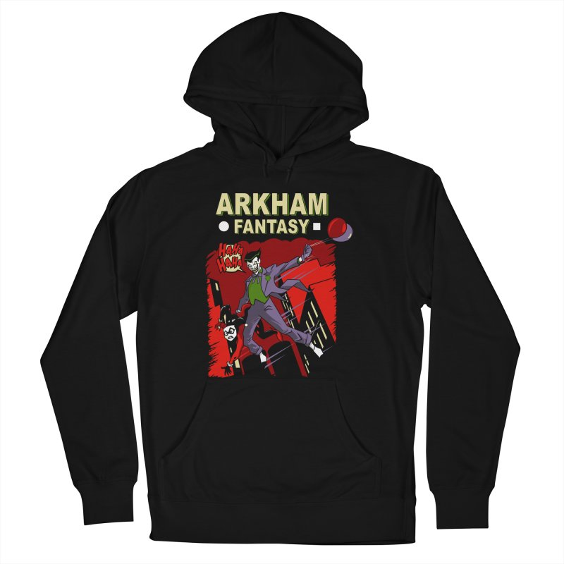Arkham Fantasy  Men's Pullover Hoody by foureyedesign's shop
