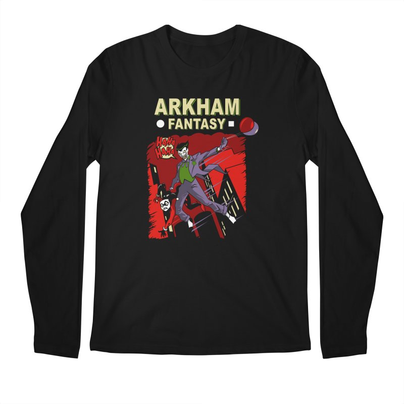 Arkham Fantasy  Men's Longsleeve T-Shirt by foureyedesign's shop