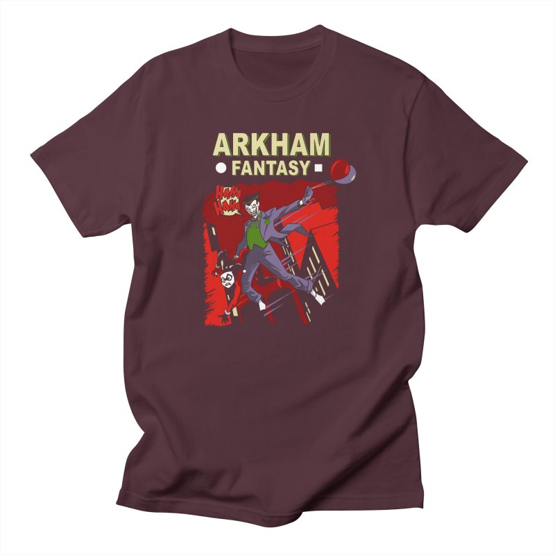 Arkham Fantasy  Men's T-Shirt by foureyedesign's shop