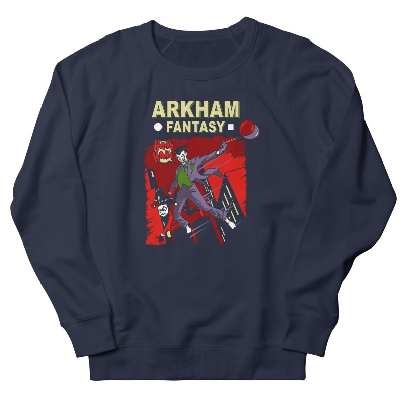 Arkham Fantasy  Men's Sweatshirt by foureyedesign's shop