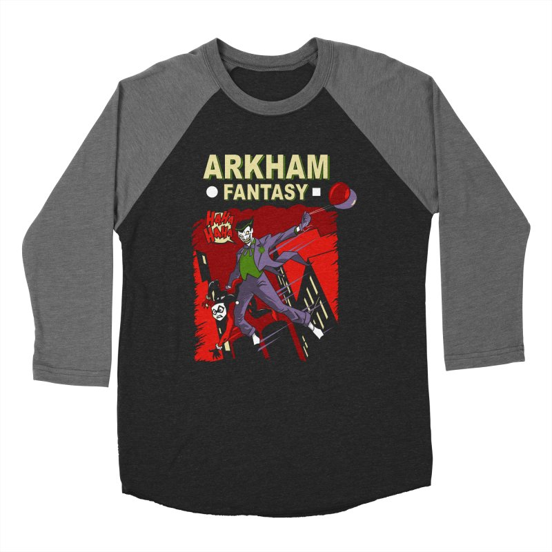 Arkham Fantasy  Men's Baseball Triblend T-Shirt by foureyedesign's shop
