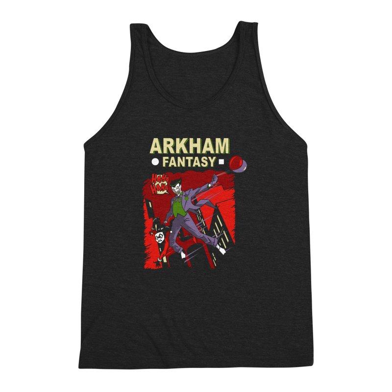 Arkham Fantasy  Men's Triblend Tank by foureyedesign's shop