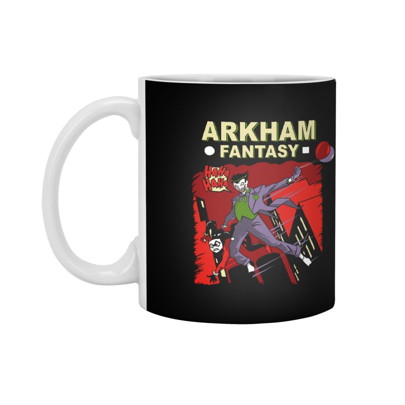 Arkham Fantasy  Accessories Mug by foureyedesign shop