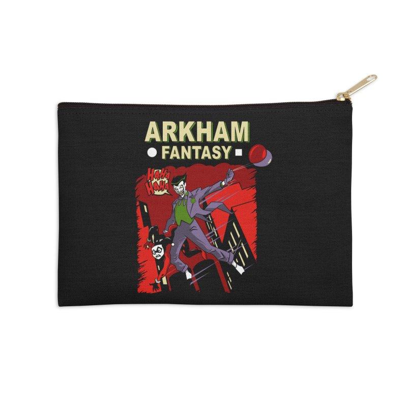 Arkham Fantasy  Accessories Zip Pouch by foureyedesign's shop