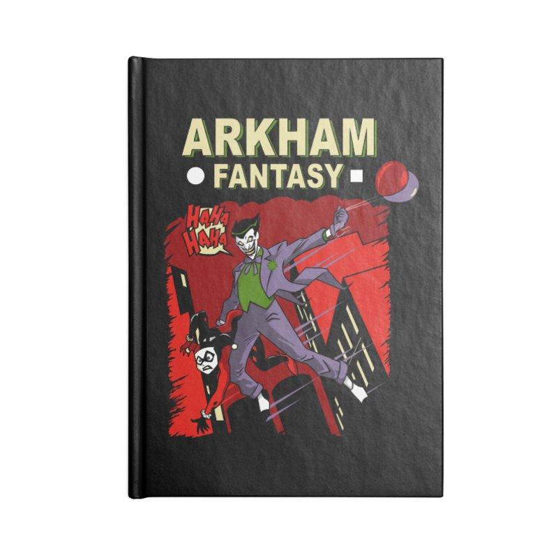 Arkham Fantasy  Accessories Notebook by foureyedesign shop