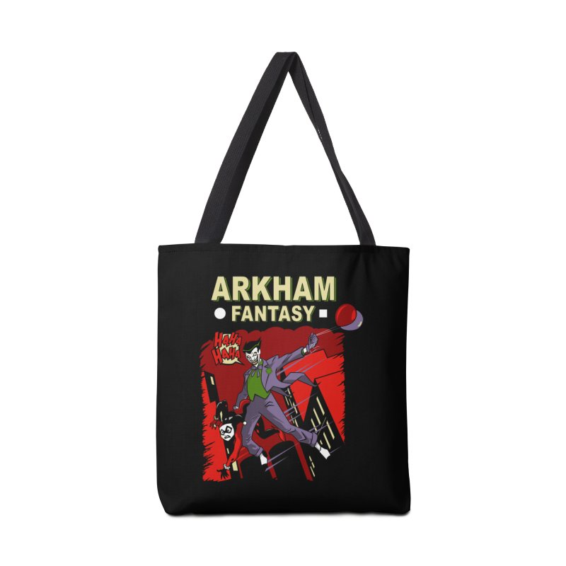 Arkham Fantasy  Accessories Bag by foureyedesign's shop