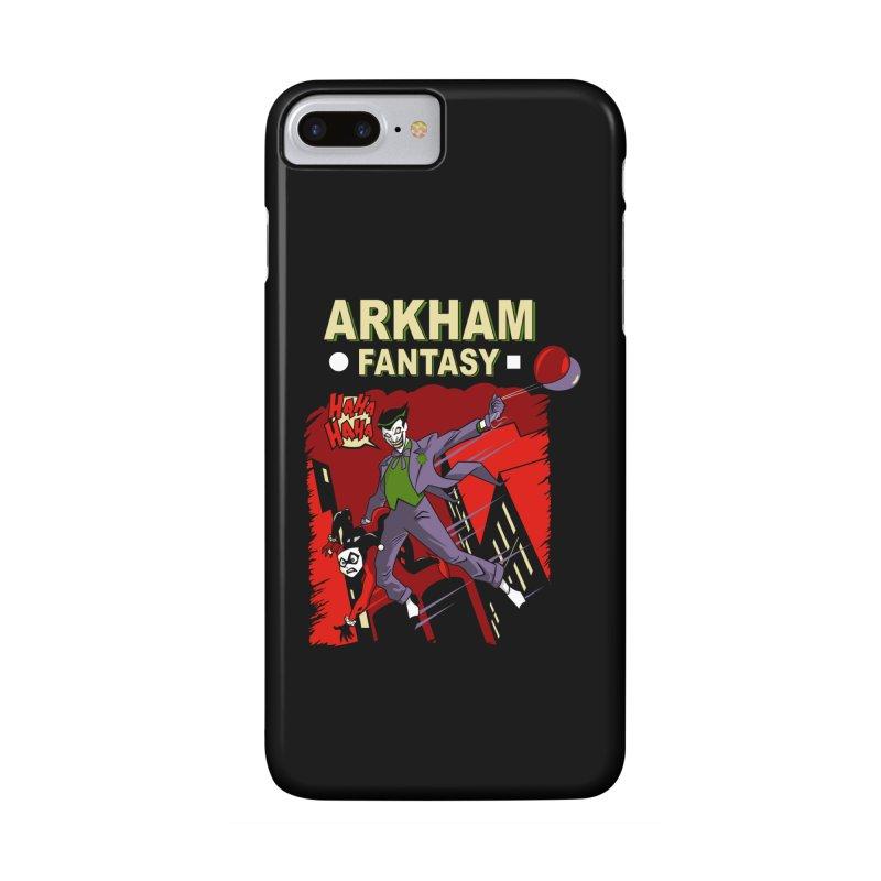 Arkham Fantasy  Accessories Phone Case by foureyedesign's shop