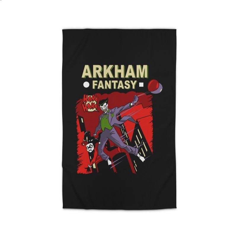Arkham Fantasy  Home Rug by foureyedesign's shop