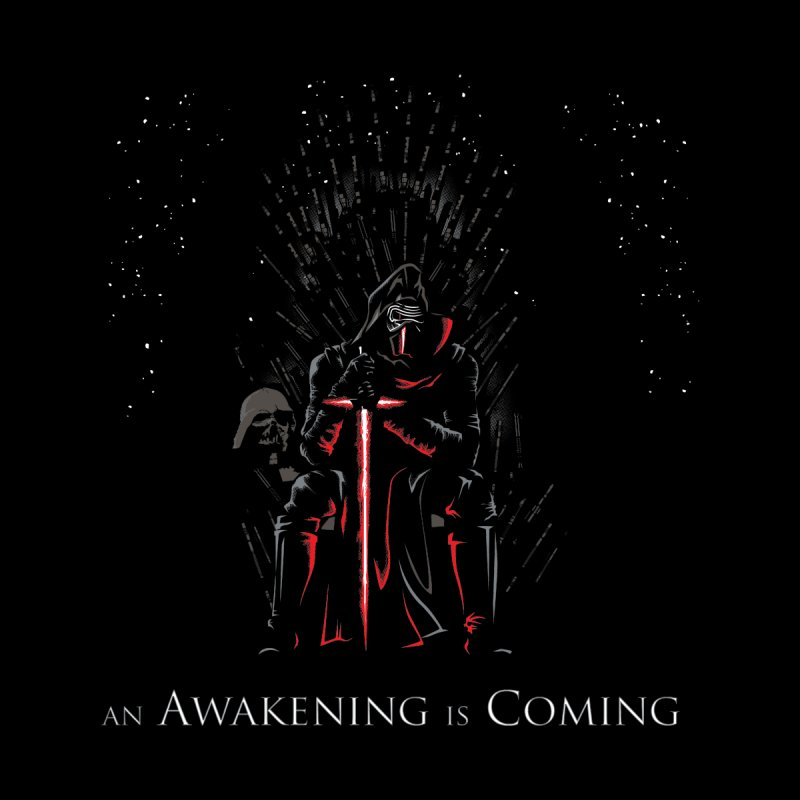 An Awakening is Coming Accessories Zip Pouch by foureyedesign's shop