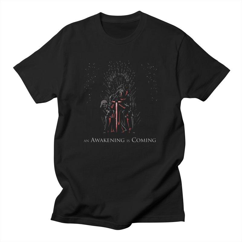 An Awakening is Coming Men's T-Shirt by foureyedesign shop