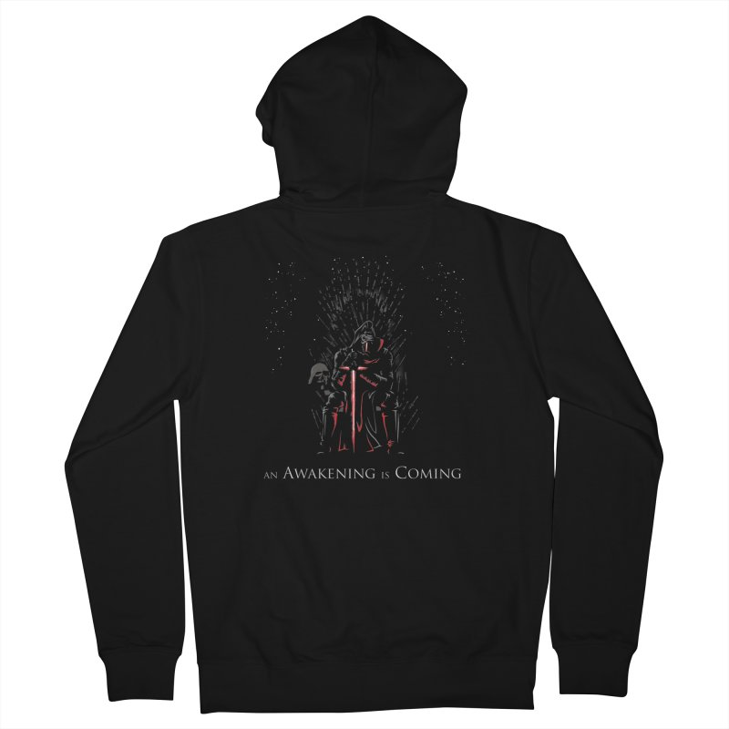 An Awakening is Coming Men's Zip-Up Hoody by foureyedesign's shop