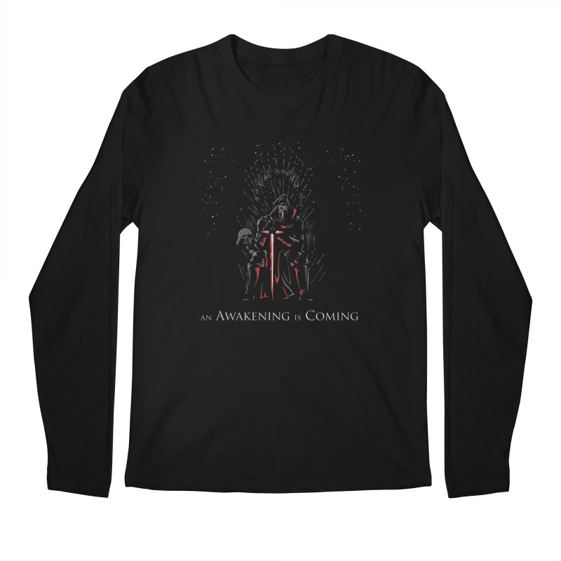 An Awakening is Coming Men's Longsleeve T-Shirt by foureyedesign shop