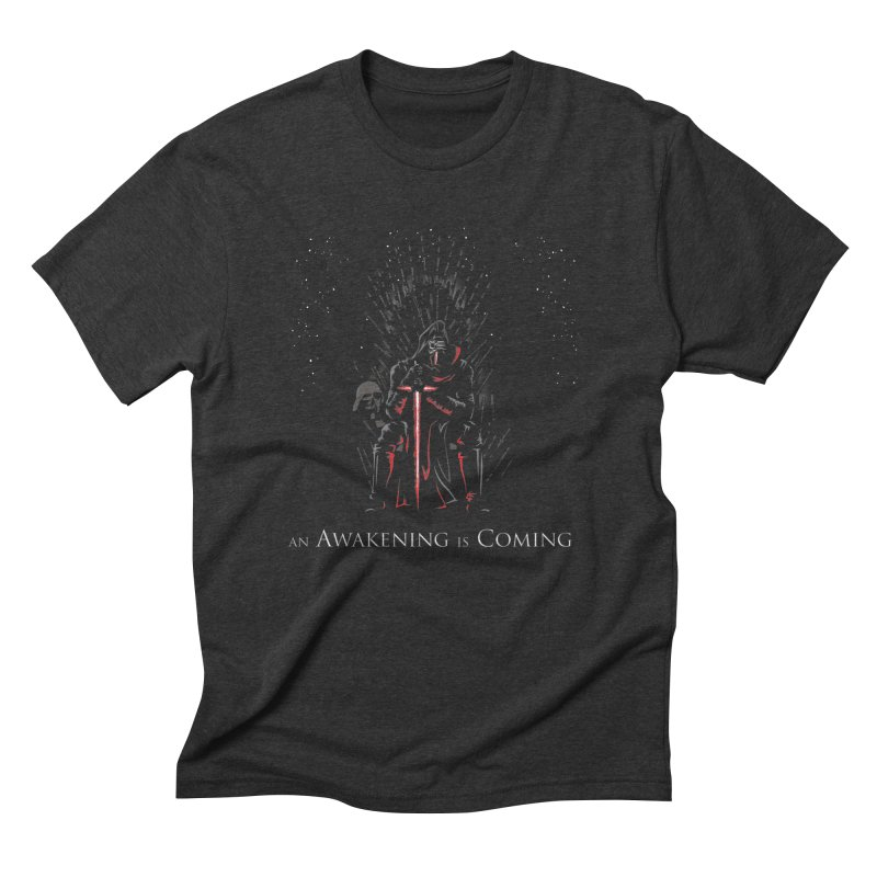 An Awakening is Coming Men's Triblend T-shirt by foureyedesign's shop