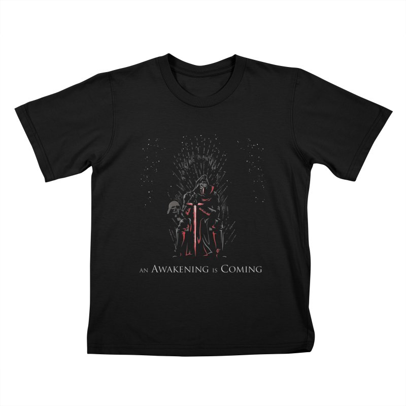 An Awakening is Coming Kids T-shirt by foureyedesign's shop
