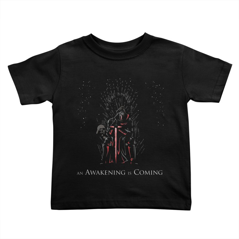 An Awakening is Coming Kids Toddler T-Shirt by foureyedesign shop