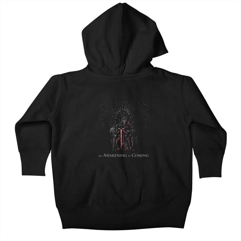 An Awakening is Coming Kids Baby Zip-Up Hoody by foureyedesign's shop