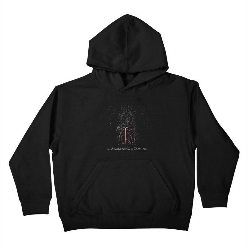 An Awakening is Coming Kids Pullover Hoody by foureyedesign's shop