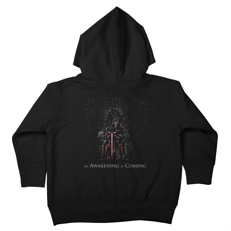 An Awakening is Coming Kids Toddler Zip-Up Hoody by foureyedesign's shop