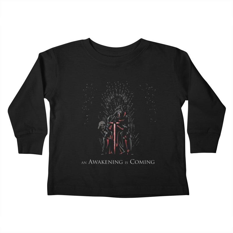 An Awakening is Coming Kids Toddler Longsleeve T-Shirt by foureyedesign's shop