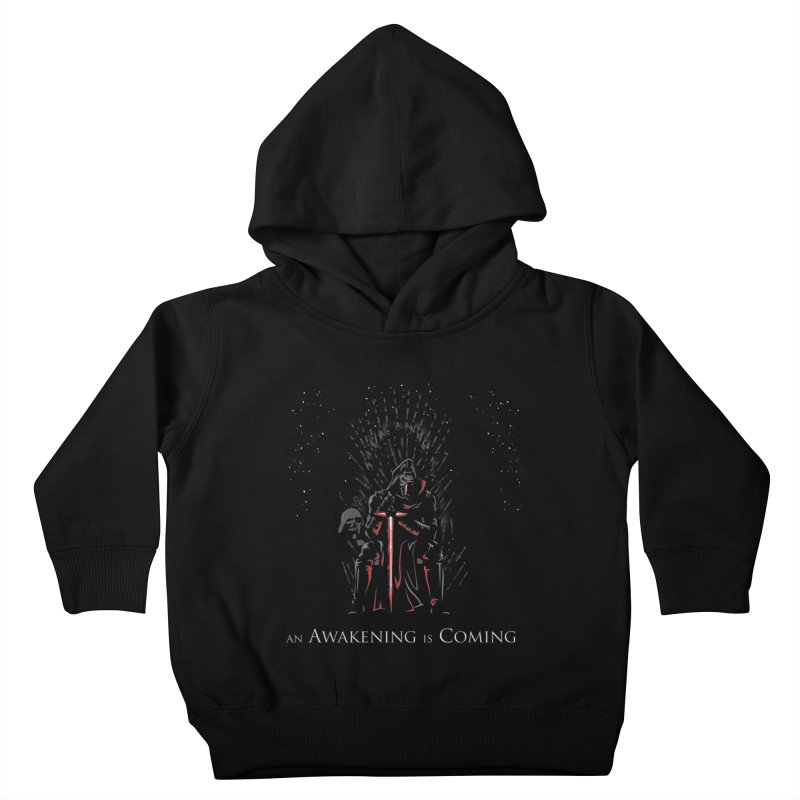 An Awakening is Coming Kids Toddler Pullover Hoody by foureyedesign's shop