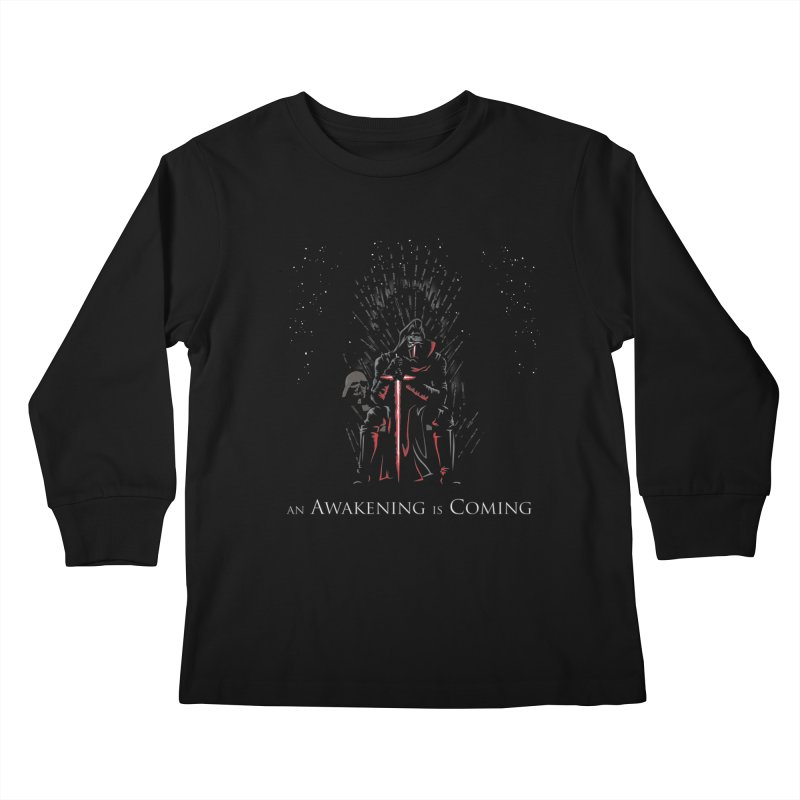An Awakening is Coming Kids Longsleeve T-Shirt by foureyedesign's shop