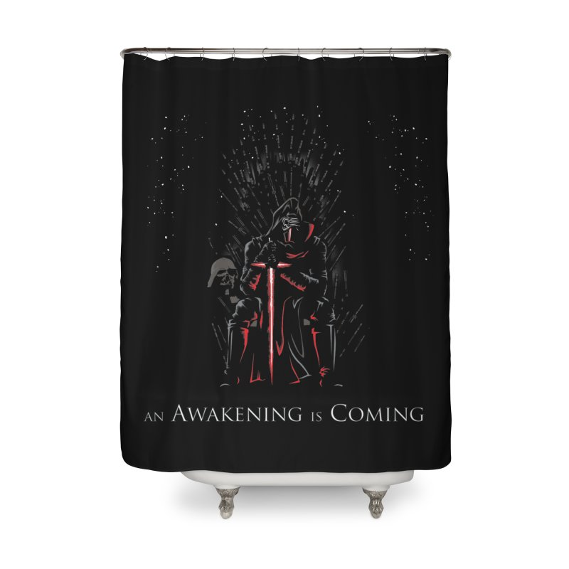 An Awakening is Coming Home Shower Curtain by foureyedesign's shop