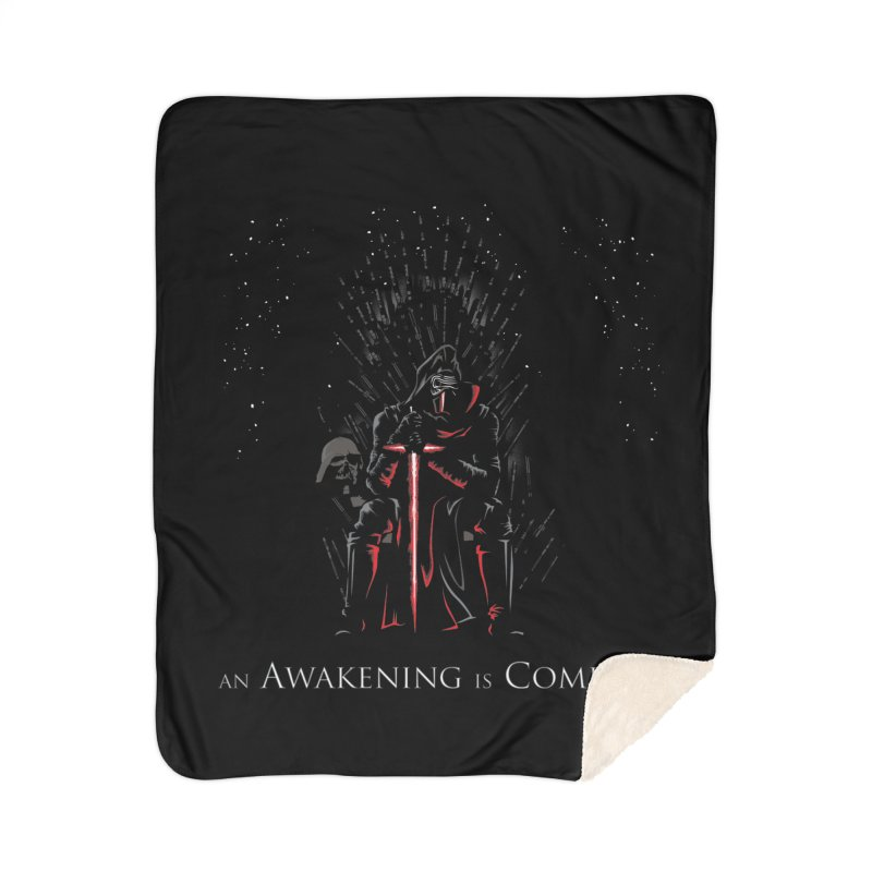 An Awakening is Coming Home Blanket by foureyedesign shop