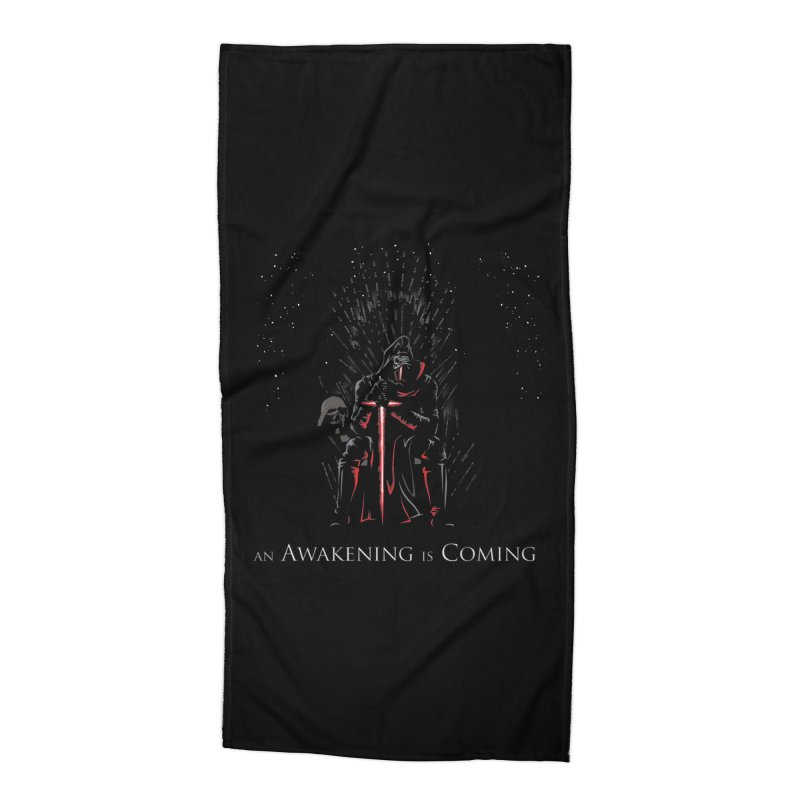 An Awakening is Coming Accessories Beach Towel by foureyedesign's shop