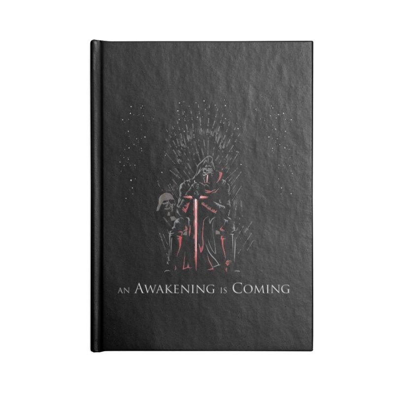 An Awakening is Coming Accessories Notebook by foureyedesign shop