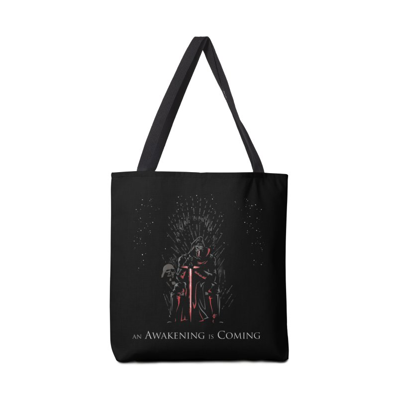 An Awakening is Coming Accessories Bag by foureyedesign's shop