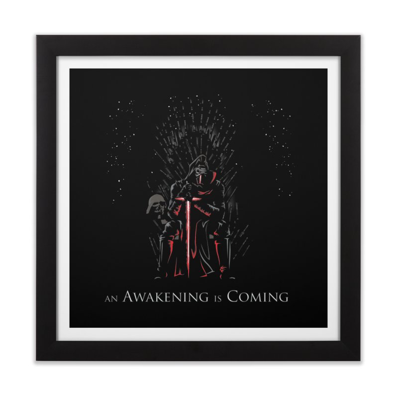 An Awakening is Coming Home Framed Fine Art Print by foureyedesign's shop