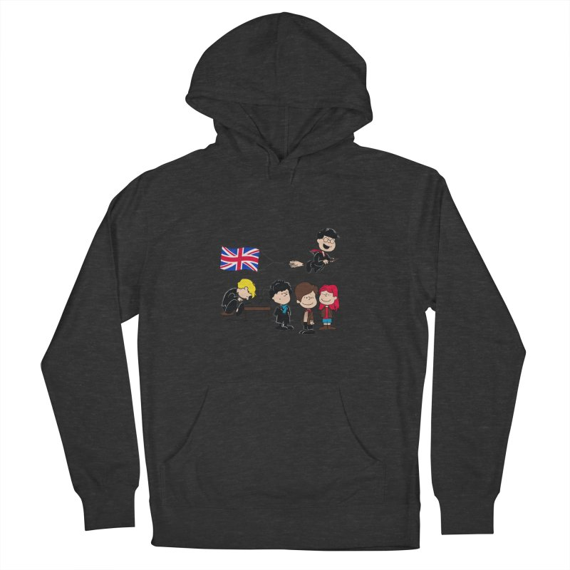 Brit Peanuts Women's French Terry Pullover Hoody by foureyedesign's shop