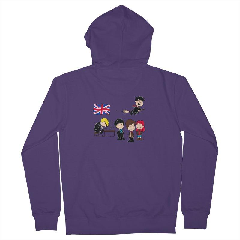 Brit Peanuts Women's Zip-Up Hoody by foureyedesign's shop