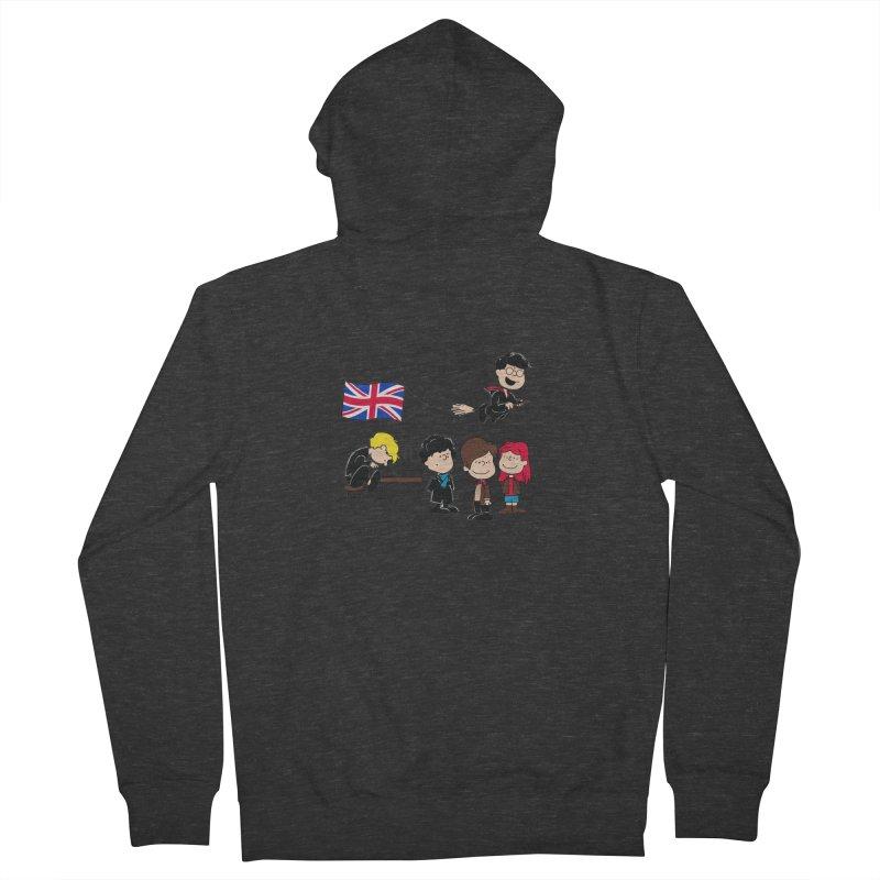 Brit Peanuts Men's Zip-Up Hoody by foureyedesign's shop