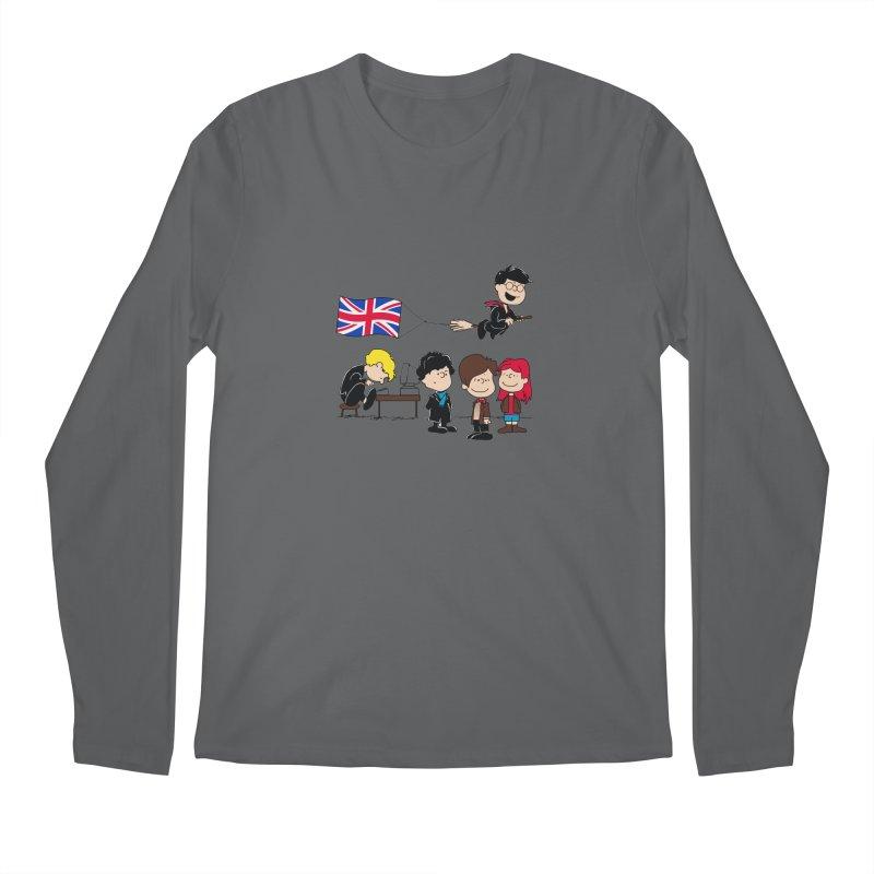 Brit Peanuts Men's Longsleeve T-Shirt by foureyedesign's shop