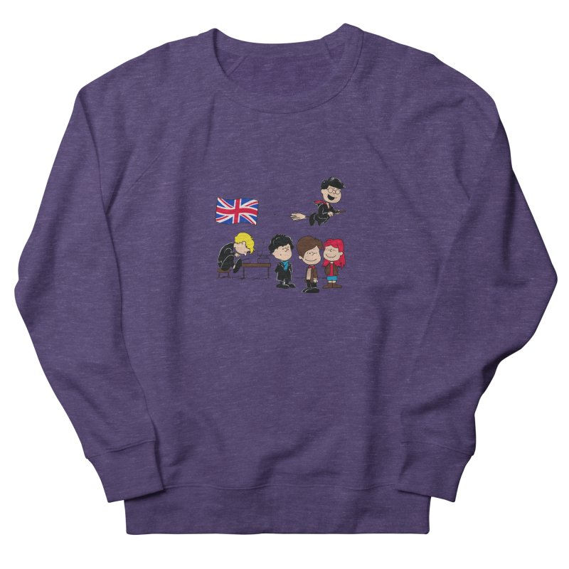 Brit Peanuts Women's Sweatshirt by foureyedesign's shop